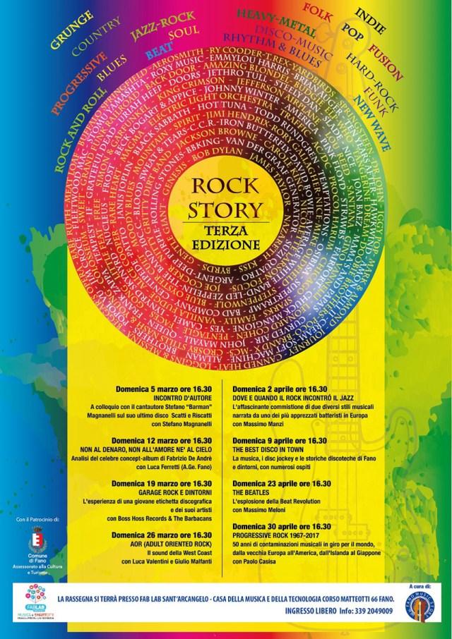 FANO / A marzo ed aprile la terza edizione di Rock Story