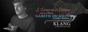 A San Lorenzo in Campo in arrivo 3 grandi concerti: si parte con Gareth Dickson