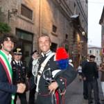 Il maresciallo capo Francesco Sblendorio lascia Corinaldo e va a Senigallia