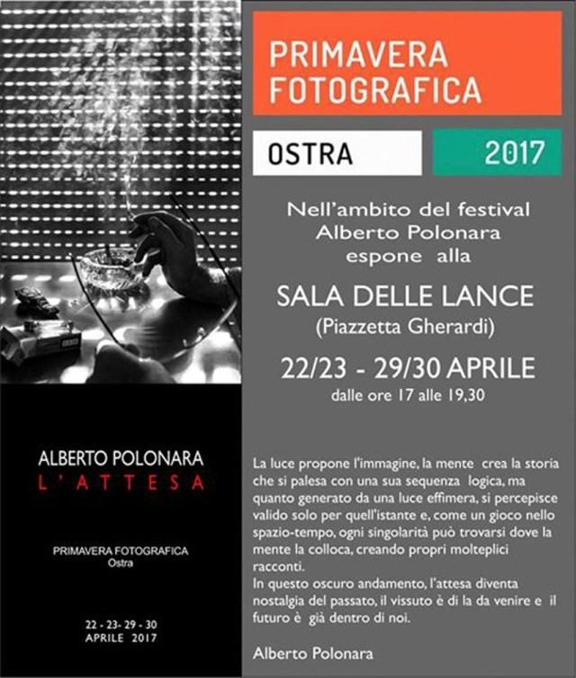 La Primavera fotografica di Ostra si presenta come evento espositivo di qualità
