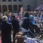 Nino Benvenuti – una leggenda dello sport – indiscussa star della Pedalata per la vita: una mattinata di festa lungo le strade di Senigallia