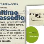 """""""L'ultimo assedio"""" di Roberto Bernacchia sarà presentato venerdì sera a Monte Porzio"""