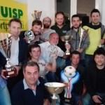 Tanti applausi alla premiazione dei protagonisti del campionato dilettanti e del torneo over 35 della Uisp di Senigallia