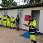 Inaugurata a Trecastelli la nuova sede operativa del Gruppo comunale dei volontari della Protezione civile