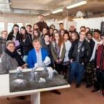 """Alla """"Land Art al Furlo"""" uno spazio per gli studenti della Scuola del libro di Urbino e dei licei artistici Apolloni di Fano e Mengaroni di Pesaro"""