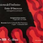 L'illusione dell'infinito: con una grande mostra Arcevia rende omaggio ad Enio D'Incecco