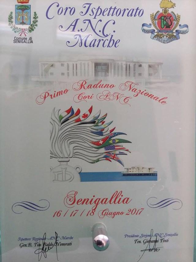 Senigallia ospita il primo raduno nazionale dei cori dell'Associazione nazionale Carabinieri