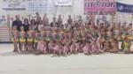 Le giovani ginnaste della ritmica di Senigallia gioiscono ai campionati nazionali Uisp