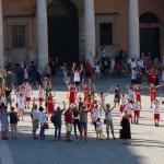 In Piazza Garibaldi la festa dei ragazzi del minibasket delle società di Senigallia e Marotta