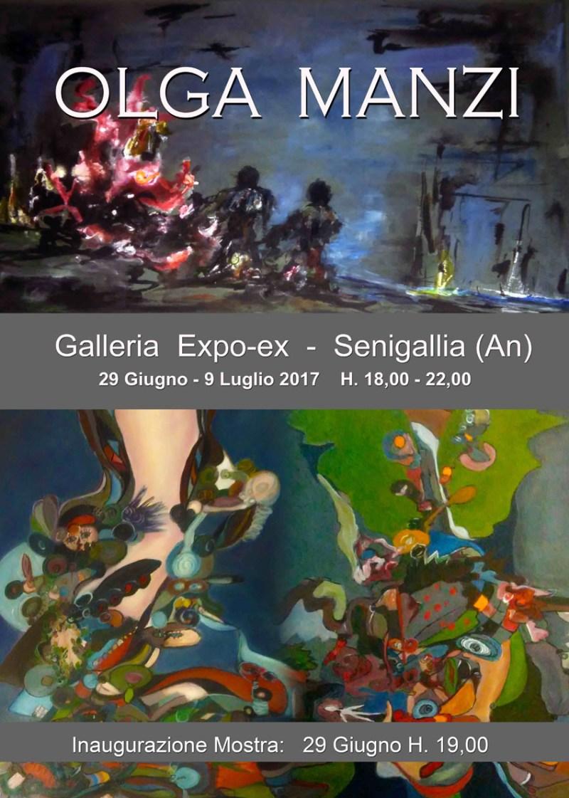 In corso all'Expo-ex di Senigallia una mostra per valorizzare le opere di Olga Manzi