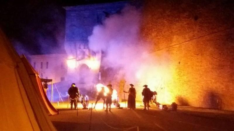 Tanti turisti lungo le strade di Corinaldo per la Festa del Pozzo della Polenta