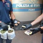 A Fano una nuova operazione antidroga della polizia con un arresto
