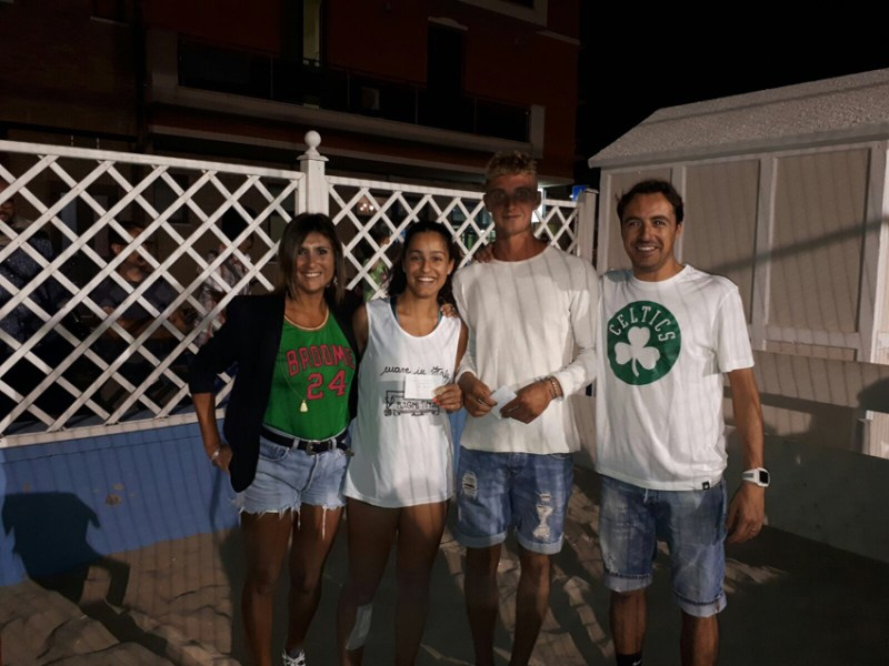 I Bagni Franco, dopo un'entusiasmante finale, si aggiudicano a Marotta il torneo di beach volley