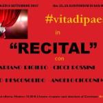 """SENIGALLIA / Mercoledì all'Auditorium San Rocco """"Recital"""" con Mariano Rigillo, Cicci Rossini, Dario Pescosolido ed Angelo Cicconi Massi"""