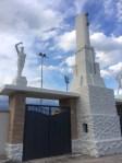 Dopo il recupero è tornato a risplendere il complesso scultoreo dello stadio Bianchelli