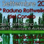 Domenica al Parco del Cormorano di Falconara il primo raduno di rottweiler