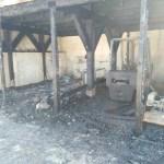 Un incendio distrugge nella notte, al porto di Senigallia, due box utilizzati per il rimessaggio