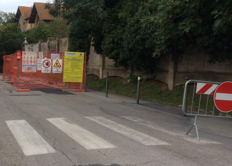 SENIGALLIA / Per il rinnovo delle condotte idriche lavori in corso in via Po e via Camposanto vecchio
