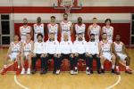Venerdì la squadra di basket di Reggio Emilia rifinirà la preparazione a Fano in vista della gara con la VL Pesaro