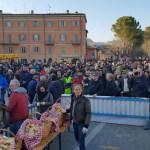 Una bella festa con tanti animali, nel centro storico di Fermignano, organizzata dalla Pro loco