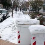 Ancora troppi pericoli lungo le strade, a Senigallia resta sospesa la raccolta dei rifiuti