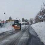 Trattamenti antighiaccio lungo tutte le strade della provincia di Pesaro Urbino
