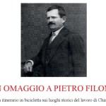 L'Associazione L'Isola ricorda Pietro Filonzi con una biciclettata nei luoghi storici del lavoro di Chiaravalle