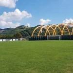 All'Istituto Della Rovere di Urbania avviata la posa in opera della struttura sportiva coperta