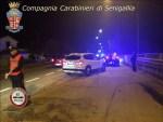 Alla guida ubriachi, due automobilisti denunciati nella notte dai carabinieri di Senigallia