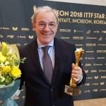 Il senigalliese Massimo Costantini è il miglior allenatore al mondo di tennistavolo per il 2018