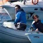 Marco Gambelli e la squadra Laser del team Sailing Park fantastici ad Andora