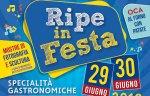"""A Trecastelli la seconda edizione di """"Ripe in festa"""" tra gastronomia e cultura"""