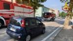 Incendio nel pomeriggio a Chiaravalle, fiamme subito spente dai vigili del fuoco
