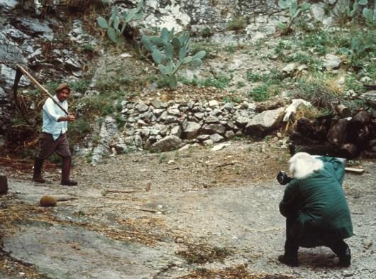 Mario Giacomelli Giuseppe Ranieri 1985 PHOTO MARCO LION PaintRit3