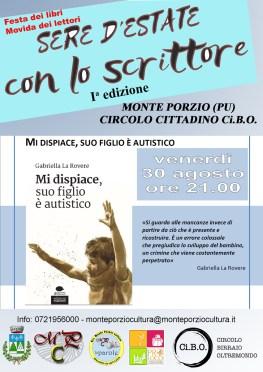 SERE D'ESTATE con lo scrittore-Gabriella La Rovere