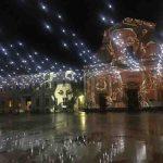 In piazza Garibaldi si accende lo spettacolo di videomapping dedicato a Mario Giacomelli e a Senigallia Città della Fotografia