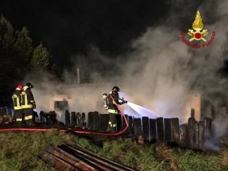 CHIARAVALLE incendio capanno vdf2020-01-22 (2)
