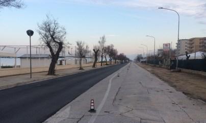 SENIGALLIA ciclovia adriatica lavori lungomare AgM2020-01-28 (30)