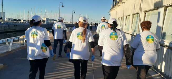 SENIGALLIA Volontari in azione ripuliscono l'area del Porto2020-02-21 (2)
