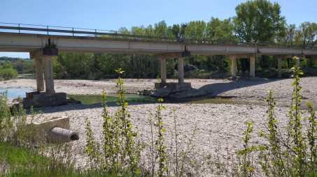 Ponte sul fiume Metauro Sp 92 Cerbara