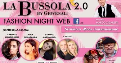 Il settore della moda in crisi reagisce domenica sera con un evento sul web