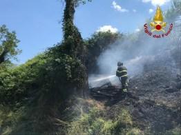 Monte San Vito incendio sterpaglie vdf2020-07-01 (2)