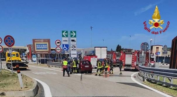 FANO incidente autostrada due morti fano area servizio vdf2020-09-04 (1)