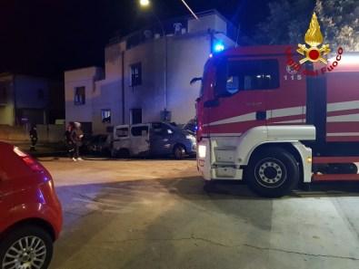 FALCONARA incendio auto furgone notte2021-01-16 (1)