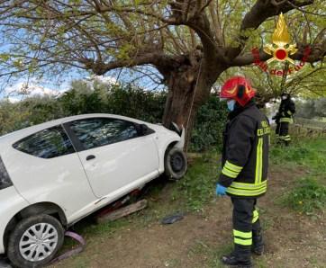 CUPRAMONTANA incidente stradale2021-04-14 (1)