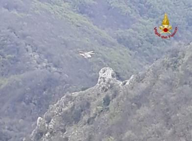 PIOBBICO escursionista in difficoltà soccorso Monte Nerone2021-04-21 (1)