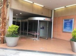 SENIGALLIA ingresso danneggiato Il Maestrale furto MfP2021-04-10 (1)