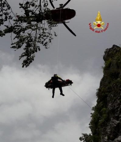 PIOBBICO persona soccorsa Monte Nerone2021-06-20 (2)