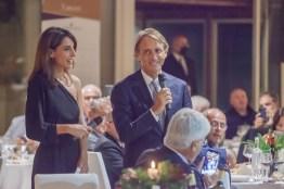 Mancini e Giorgia Cardinaletti