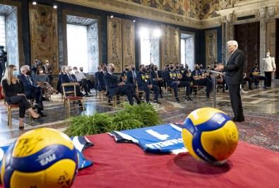 ROMA nazionali pallavolo ricevute Quirinale Mattarella2021-09-27 (14)